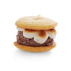 S'mores Ice Cream Sliders Recipe - Delish.com  -  For the complete recipe, simply click on the photo.  ENJOY!