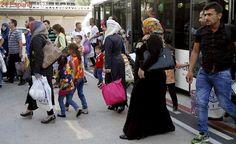 Llegan a España 21 refugiados sirios desde Turquía dentro del plan de reasentamiento