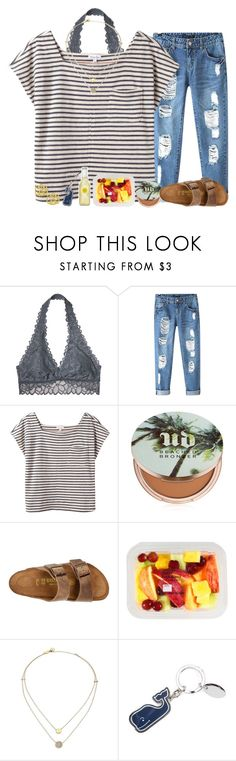 """going to a banquet with @summerbarnesofficial"" by alexislynea-804 on Polyvore featuring Victoria's Secret, Chicnova Fashion, Steven Alan, Urban Decay, Birkenstock and Michael Kors"