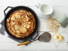 Kauraletut Protein Snacks, Something Sweet, Cornbread, Food Inspiration, Smoothies, Pancakes, Food And Drink, Sweets, Baking