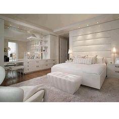parede!!! com espelhos All White! #assimeugosto