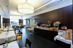 Breakfast at hotel post Wien