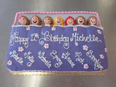 Sleep Over Birthday Cake made by American Dream Cakes in Jacksonville NC!http://www.americandreamcakes.com/