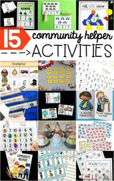 Check out these fantastic community helpers activities from some of your favourite bloggers!