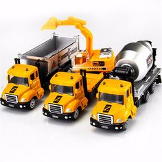 1 Pcs Diecast Mini Car Alloy Wheel Car Model Construction Tools Engineering Vehicle Truck Birthday Toys for Boys Childern Kids