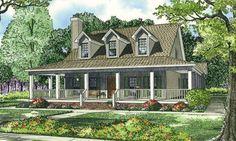 House Plan 17-1017 2000 sf nice floor plan 61 ft width 4 bdrm