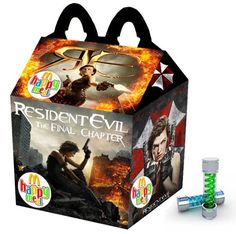 """""""Resident Evil: The Final Chapter"""" Happy Meal"""