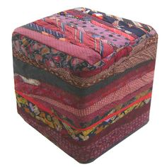 I pinned this Moe's Home Collection Tie Ottoman from the Cari Cucksey event at Joss and Main!