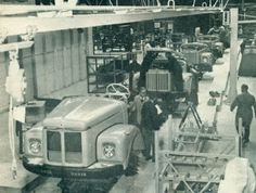 Scania Vabis fabriek Zwolle 1965