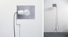 laracocken: Joseph Beuys | Lamp, 1960 | Metal tripod, ceramic socket and metal reflector | Height adjustable from 29.5 x 82.5 inches (75 to 210 cm) | Unlimited edition, assembled by Schellmann Furniture Beuys made this lamp in 1960 for his studio in Düsseldorf, Drakeplatz 4. At the time conceived of out of necessity, he continued to use it for thirty years.