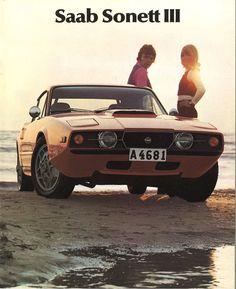 Sweden's Sports Car: 1970 Saab Sonett III brochure | Chromjuwelen.com