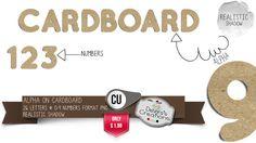 Debora's Creations: Alpha On Cardboard