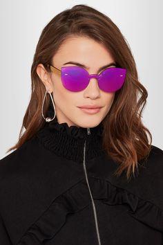 Retrosuperfuture | Tuttolente Lucia cat-eye acetate mirrored sunglasses | NET-A-PORTER.COM