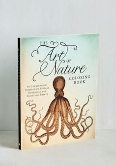 Art of Nature Coloring Book