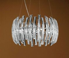 Drifter Collection Chrome Finish Hanging Light