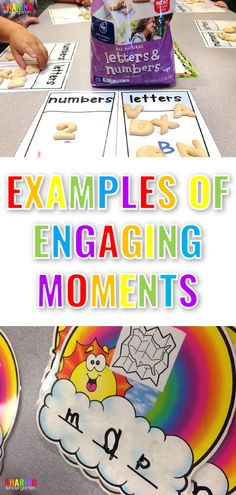 Examples of Engaging Moments in ELA