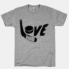 Love Hockey t-shirt