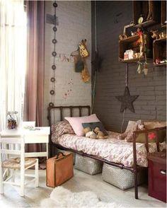 Vintage bedroom look --