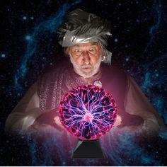 Bola de Plasma de Luz Mágica Bola Crysta Lámpara Lámparas de Ambiente de Carnaval del Relámpago de la Esfera de Iones Para Purificar El Aire KTV Luces de La Noche de La Novedad