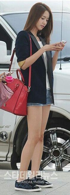 SNSD Yoona's airport fashion