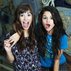Demi Lovato and Selena Gomez | 50 Sure Signs That Texas Is Actually Utopia