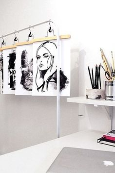 Or mount your art with hangers. | 21 Cheap And Easy Decorating Tricks For Renters