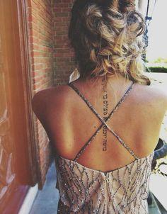 22 tatouages pour sublimer sa colonne vertébrale | Glamour