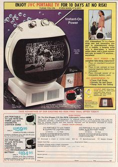 JVC Videosphere TV by retro-space, via Flickr