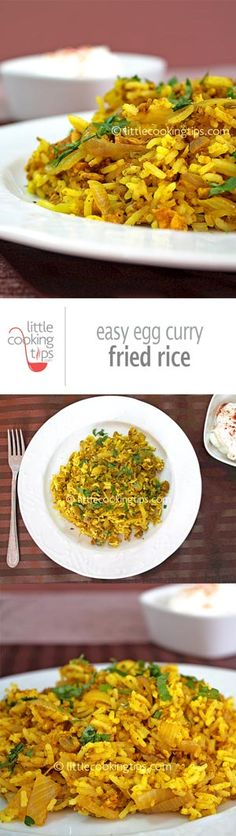 A very easy Asian recipe that combines Indian and Chinese flavors. Its suitable both for lunch and dinner, great for a fancy meal and also a great comfort food! Quick,easy and affordable this is a healthy dish that tastes great. #healthy #Indian #rice #stir-fry #Chinese