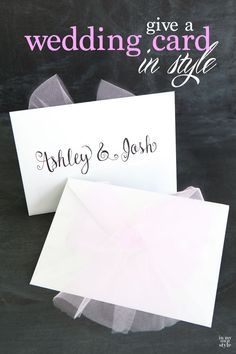 Why give your monetary gift in a plain envelope when with a little effort you can give something festive, pretty and perfect for the occasion.