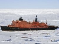50 Years of Victory - the largest nuclear-powered icebreaker in the world   Quark Expeditions
