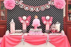 Dicas para tema Barbie Silhueta