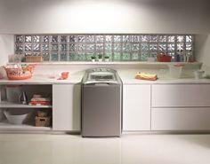Morar com Estilo : ÁREA DE SERVIÇO / lavanderia    Fazer uma área de...