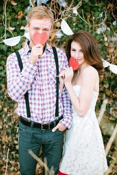 Cute Valentines photo shoot.