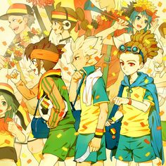 Endou, Goenji & Kido | Inazuma Eleven