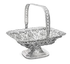 A silver basket, Odessa, 1858 | Lot | Sotheby's