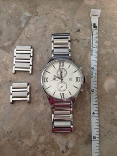 TOMMY HILFIGER Classic Stainless Steel Quartz Wrist Watch 1710289 Mens