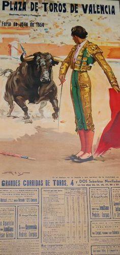 PLAZA DE TOROS DE VALENCIA 1954