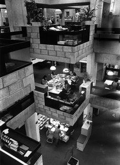 Herman Hertzberger, montessori school, Delft