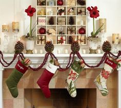 Holiday Decor ideas #holiday -pinned by http://dazzlemeelegant.com