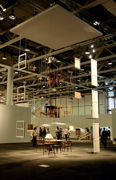 Architecture without Architects  Damián Ortega, 2010 | Flying furniture sets. Pretty interesting.