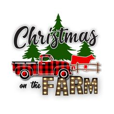 Check out this awesome 'Christmas+on+the+Farm' design on Christmas Decals, Christmas Clay, Christmas Shows, Christmas Truck, Christmas Clipart, Diy Christmas Gifts, Christmas Projects, Cute Christmas Ideas, Christmas T Shirt Design