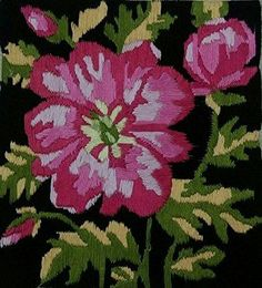 Rose Mallow Flower Impression 🌺 (Multi Color_42*42). Mallow Flower, Aquatic Birds, Types Of Hands, Real Nature, Thread Painting, Flamboyant, Grooming Kit, Frame It, The Help