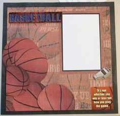 basketball scrapbook layouts - Bing Images