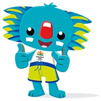 What do you think about Borobi, the Gold Coast 2018 Commonwealth Games mascot? - Epoxy Resin - What do you think about Borobi, the Gold Coast 2018 Commonwealth Games mascot? Work Activities, Activity Games, Toddler Activities, Gold Coast Commonwealth Games, Pose, Primary Teaching, Early Childhood, Childhood Games, Childrens Party