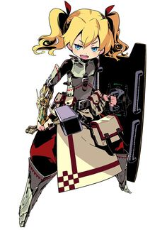 Fortress Female from Etrian Odyssey IV: Legends of the Titan