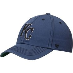 361ade8bd37 Men s Kansas City Royals  47 Heathered Navy Sachem Franchise Fitted Hat
