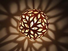 Ball Combined Wooden Pendant Lights-Hanging by StarlightWorkshop