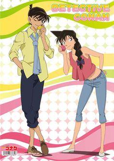 Shinichi Kudo and Ran Mouri