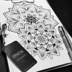 Martin Tattooer ZIncik - Tattoo ZINCIK , Czech tattoo artist, Tetování Praha / Brno, Mandala geometry tattoo design dotwork,
